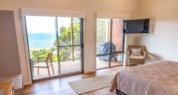 luxury Kangaroo Island retreat; kangaroo island seafront accommodation; Sea Dragon Lodge; Deluxe Eco Villa Bedroom