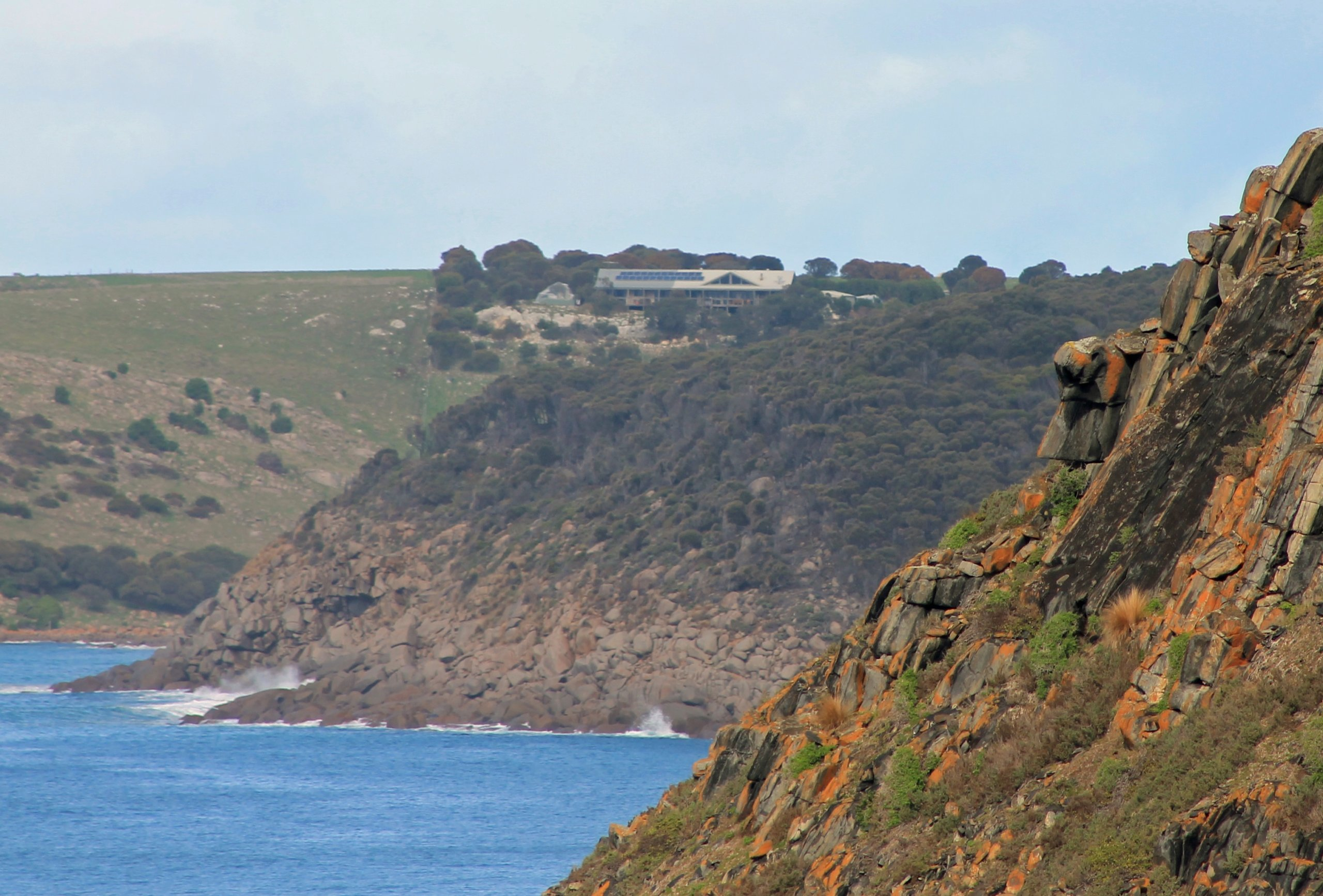 Luxury seafront accommodation on Kangaroo Island