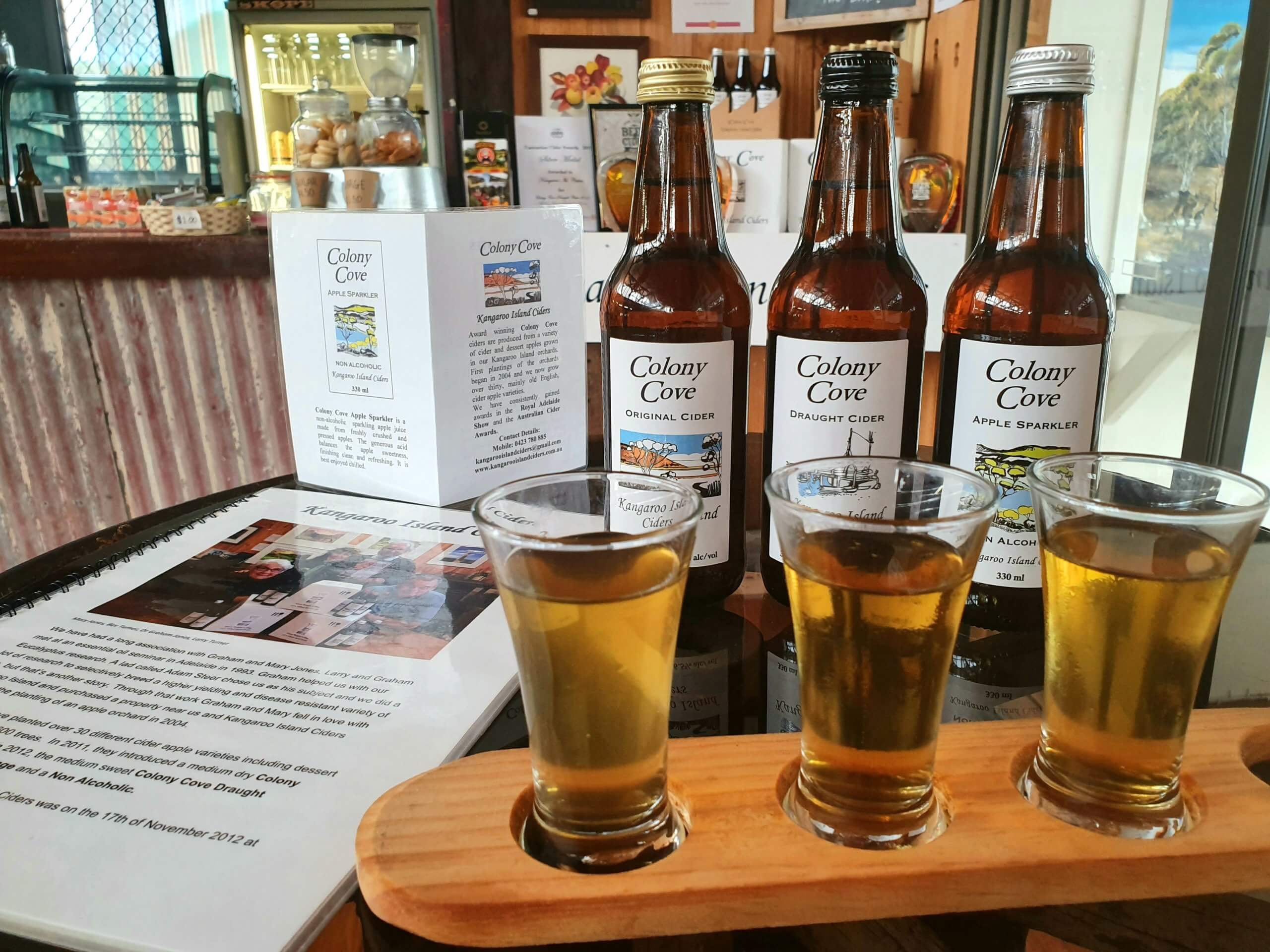 Kangaroo Island Ciders;Wineries on Kangaroo Island; Kangaroo Island Food & Wine