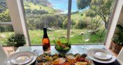 Seafood Platter in the Sunroom